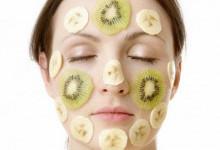 Увлажняющая маска из банана для лица